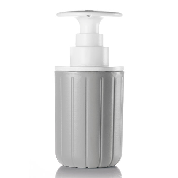 guzzini spülmittelspender | grau-weiß – design niklas jacob