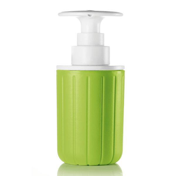 guzzini spülmittelspender | grün-weiß – design niklas jacob