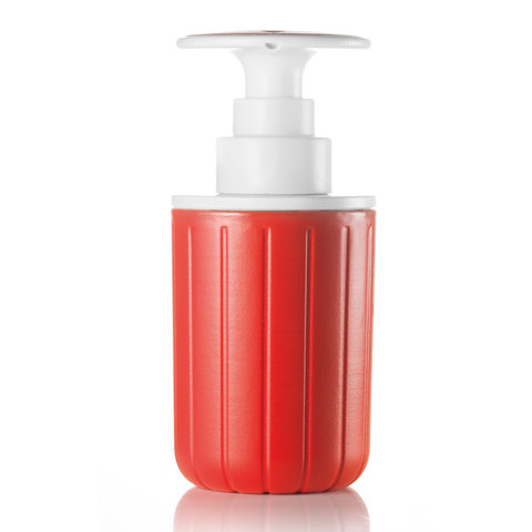spülmittelspender | rot-weiß