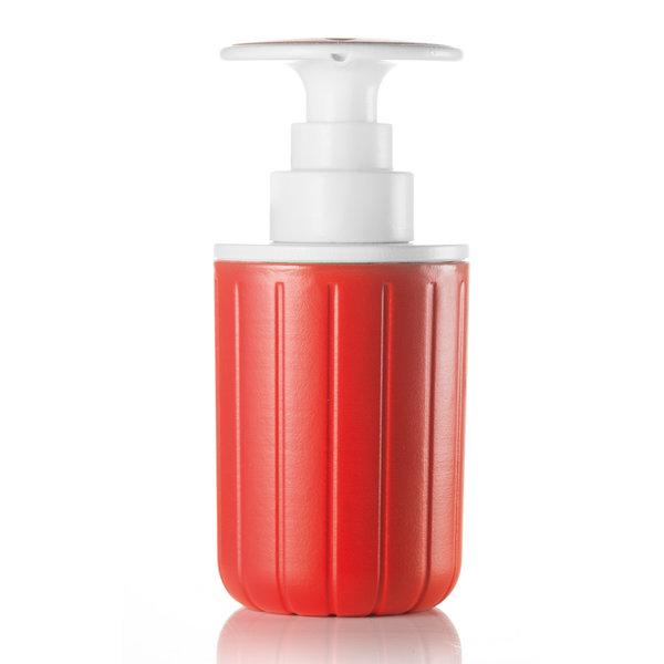 guzzini spülmittelspender | rot-weiß – design niklas jacob