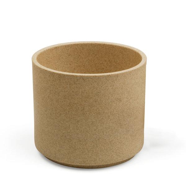 hasami porcelain hasami becher/zylindrische schale | Ø 8,5 cm, h 5,5 cm | sand  – design takuhiro shinomoto