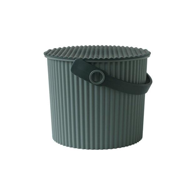 omnioutil eimer | dunkelgrün - design hachiman kasei