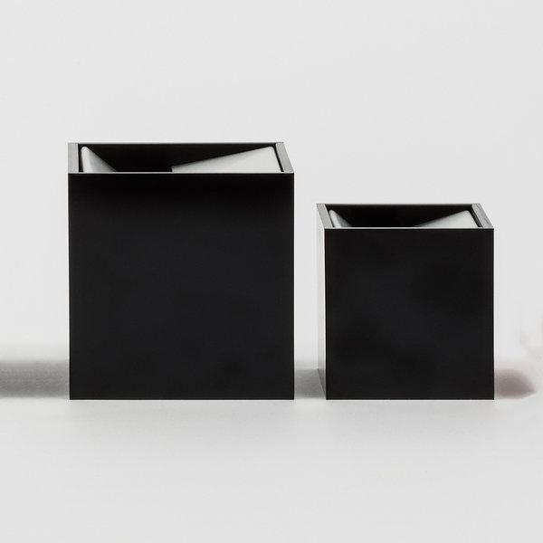 danese milano cubo aschenbecher - design bruno munari