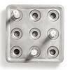 stumpastaken small kerzenhalter   9  kerzen - design jonas torstensson