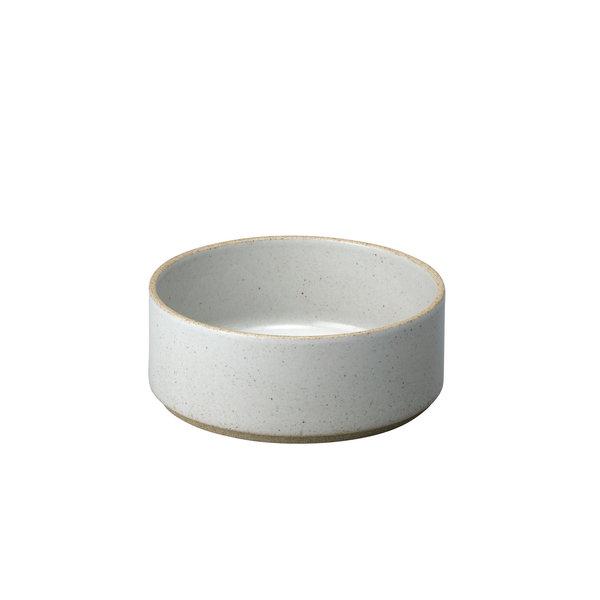 hasami porcelain hasami zylindrische schale | Ø 14,5 cm, h 5,5 cm | hellgrau glänzend glasiert – design takuhiro shinomoto
