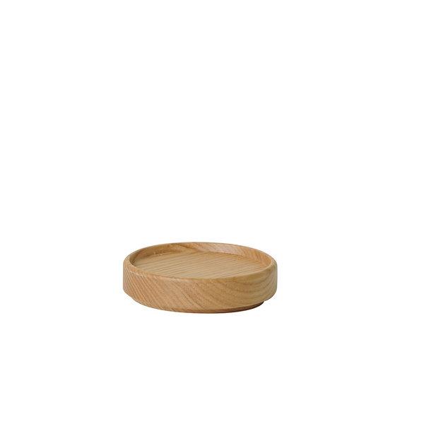 hasami porcelain hasami deckel aus eschenholz   Ø 8,5 cm – design takuhiro shinomoto
