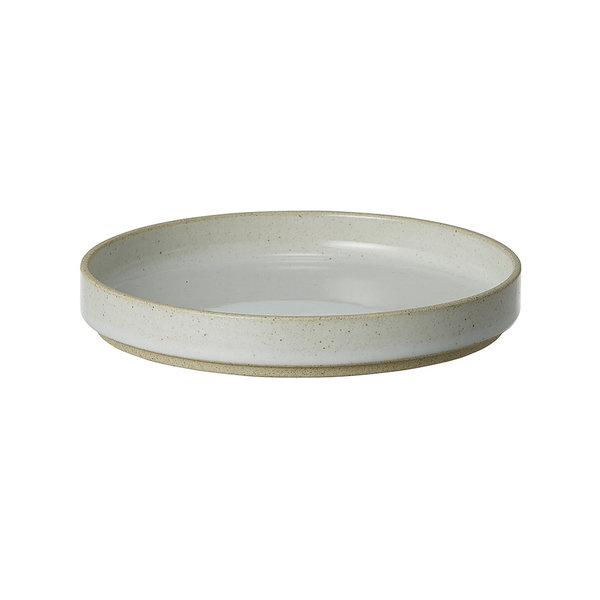 hasami porcelain hasami teller/deckel | Ø 14,5 cm | hellgrau glasiert – design takuhiro shinomoto