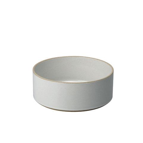 hasami zylindrische schale | Ø 18,5 cm, h 7,2 cm | hellgrau glänzend glasiert