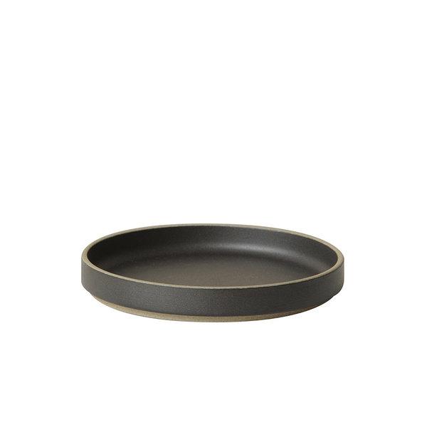 hasami porcelain hasami teller/deckel | Ø 14,5 cm | mattschwarz glasiert – design takuhiro shinomoto