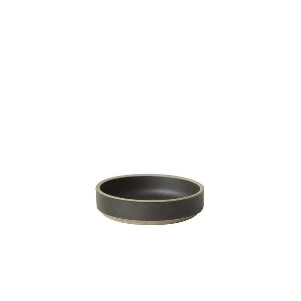 hasami porcelain hasami teller/deckel | Ø 8,5 cm | mattschwarz glasiert – design takuhiro shinomoto