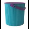 omnioutil eimer   türkis-violett - design hachiman kasei