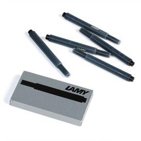 lamy lamy tintenpatronen T10, 5 stück | schwarz