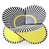 faltkarte | optical gelb – design kirstin hoevermann