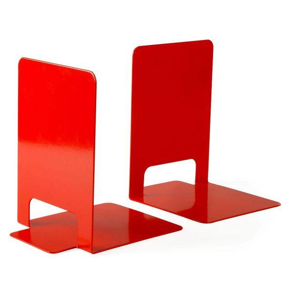ørskov buchstütze møller, 2 stück | rot – design jørgen møller