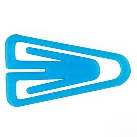 laurel plastiklips büroklammern | 25mm hellblau