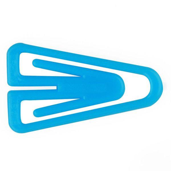 laurel plastiklips büroklammern | 25mm hellblau – design kurt lorber