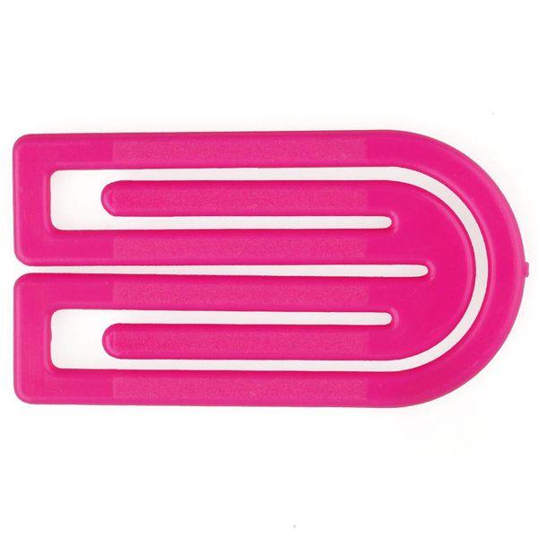laurel king klips büroklammern | 50mm pink – design kurt lorber