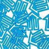plastiklips | pfeilklip blau – design kurt lorber