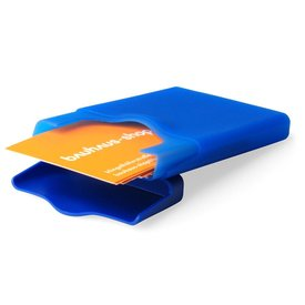 +d hiby visitenkartenhalter | blau