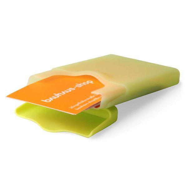 +d hiby visitenkartenhalter | grün – design shin-ichi sumikawa