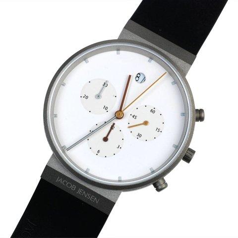 armbanduhr jacob jensen | 601 chronograph