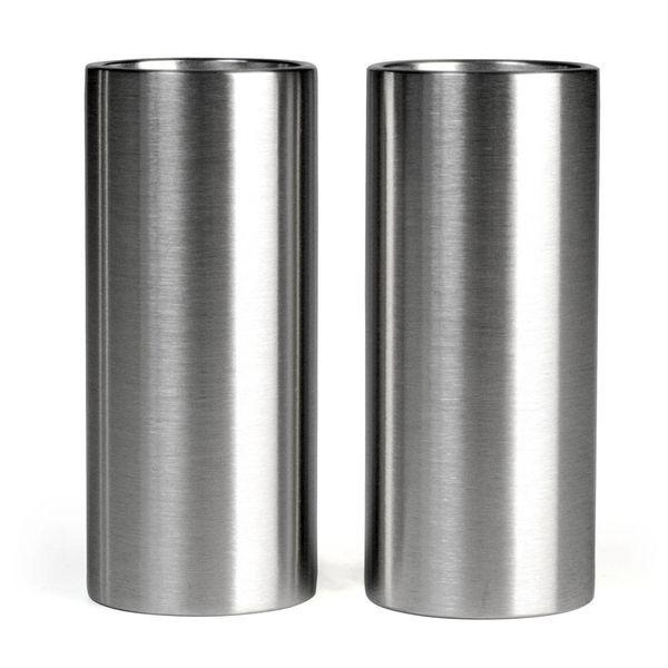 stelton cylinda line salz+pfefferstreuer – design arne jacobsen