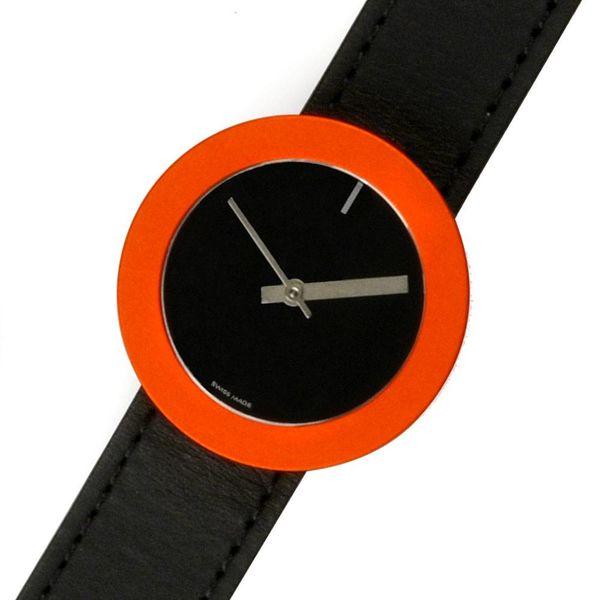 pierre junod thick&thin armbanduhr – design lella + massimo vignelli