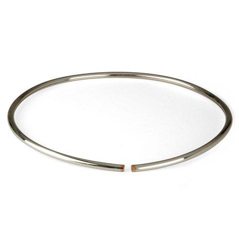 halsreifen flexibel silber/kupfer | ø 4 mm