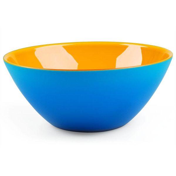 guzzini my fusion schale | ø 20 cm, blau-orange – design setsu + shinobu ito