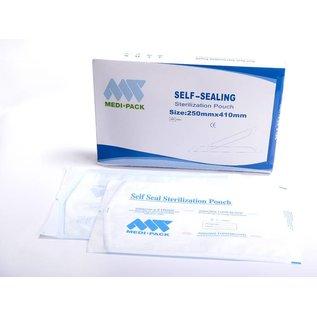 Sterilisationsbeutel, Medi Pack, selbstklebend VE 200 Stück