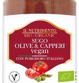 Il Nutrimento Pastasaus met olijven en kappertjes