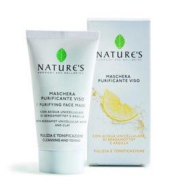 Nature's Zuiverend gezichtsmasker met witte klei