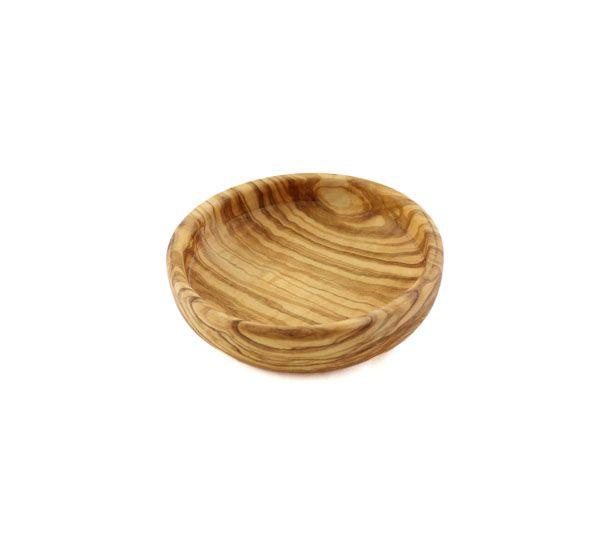 bowls and dishes Olijfhouten schaaltje wijd 12 cm