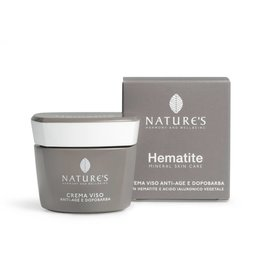 Nature's Hematite Anti age & Aftershave Gezichtscrème