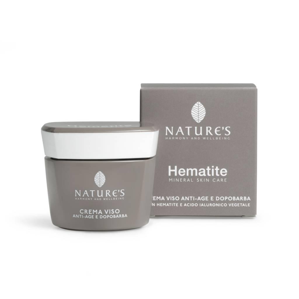 Nature's Hematite Anti age & Aftershave Gezichtscrème