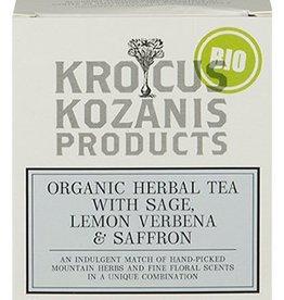 Krocus Kozanis Saffraan thee met salie en verveine