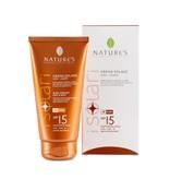Nature's Zonnebrandcrème voor lichaam en gezicht SPF 15