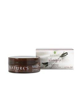 Nature's Handcrème met vanille-extract en mangoboter
