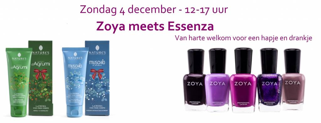 4 december: Zoya meets Essenza