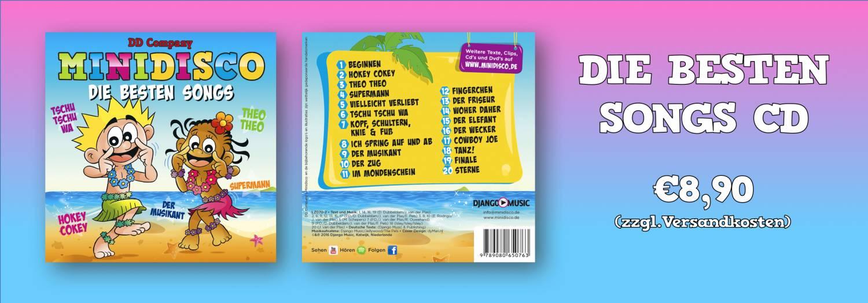 Minidisco Die Besten Songs am Deutsch
