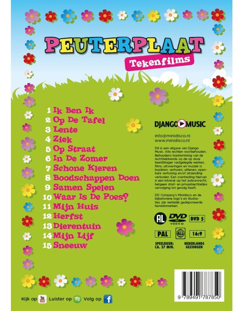 Peuterplaat CD + DVD - Angebo