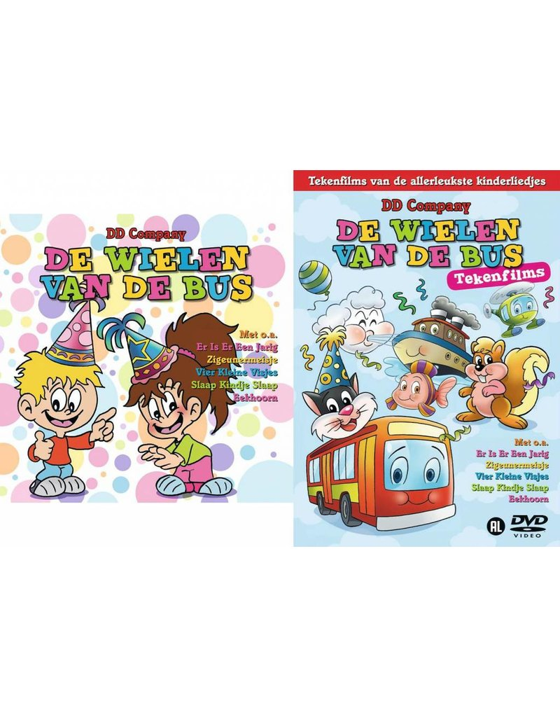 De Wielen Van De Bus CD + DVD. Las Ruedas Del