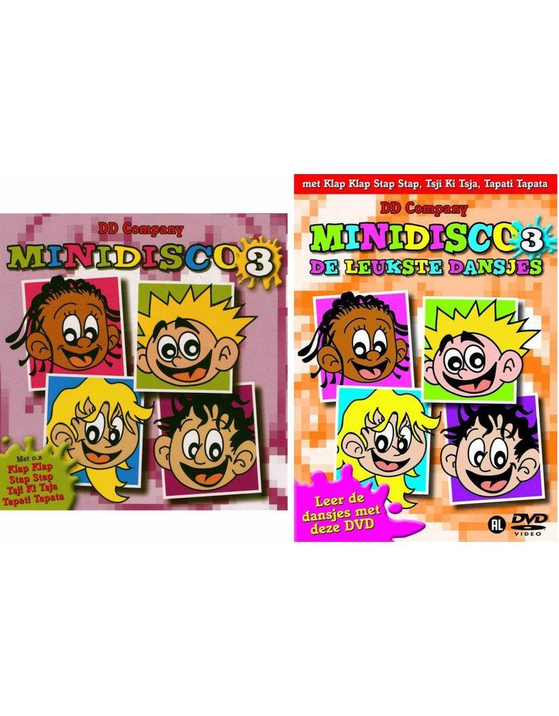 Minidisco DVD #3 + CD #3 (jewelcase)
