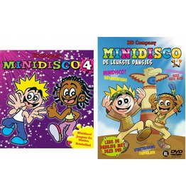 Minidisco DVD #4 + CD #4