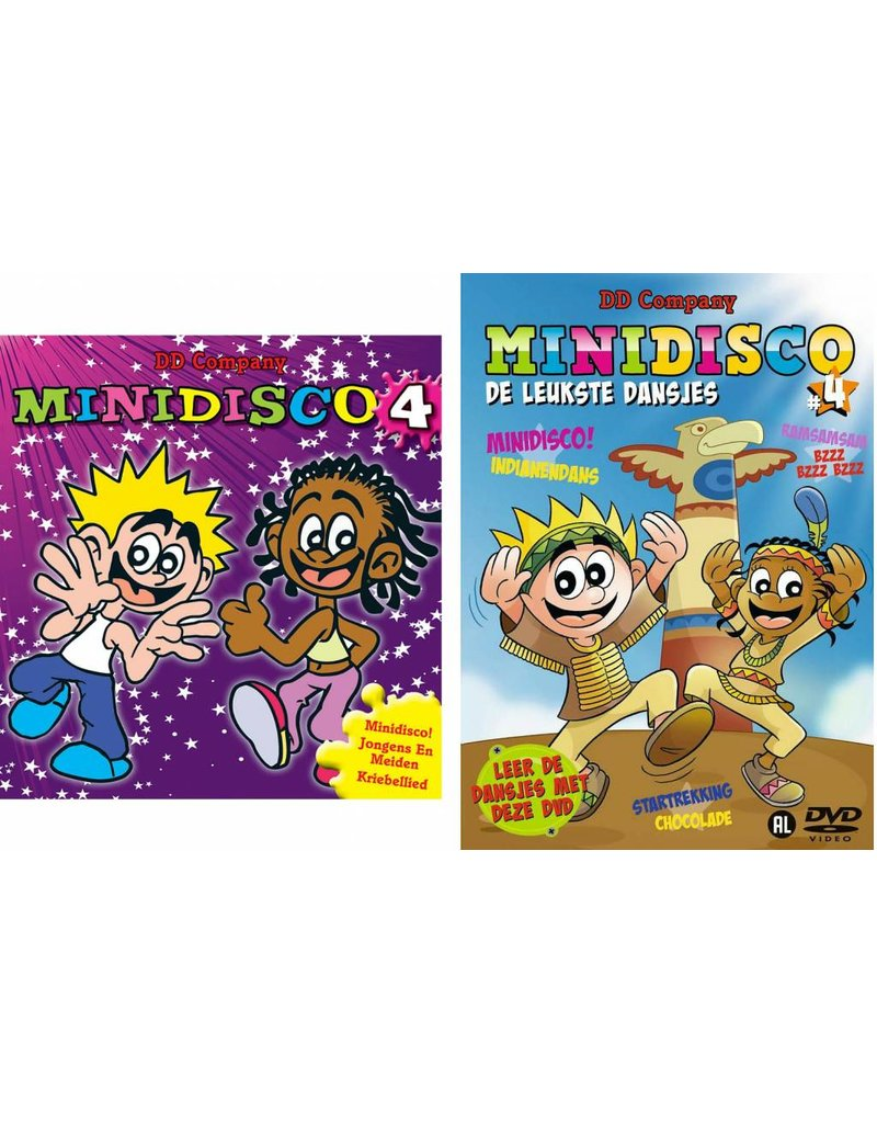 Minidisco DVD #4 + CD #4 (jewelcase)