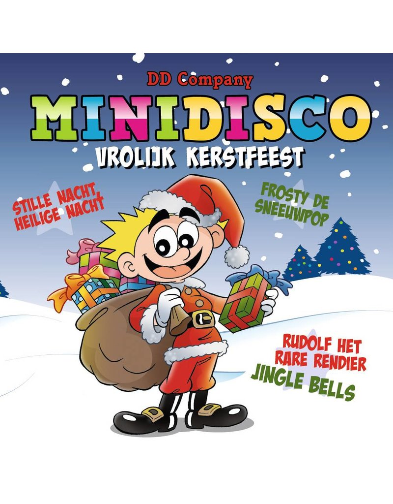 Minidisco Merry Christmas CD - Copy