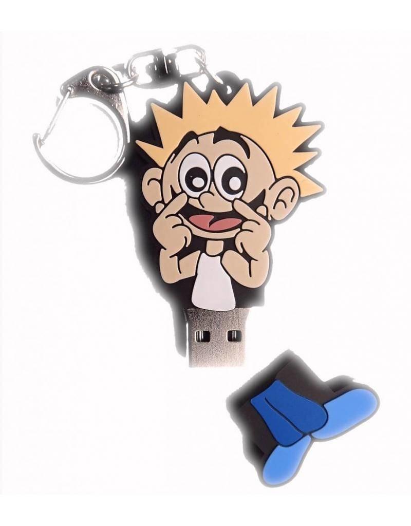 Peuterplaat op USB