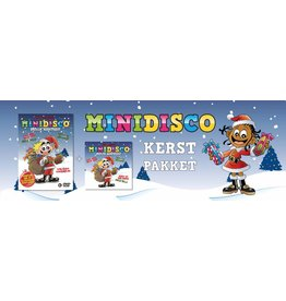 Minidisco Kerstpakket, CD + DVD met gratis eBook