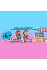 MINIDISCO SUPER AANBIEDING! MINIDISCO  CD1, 2, 3, 4, 5 én 6 voor  maar €30,-