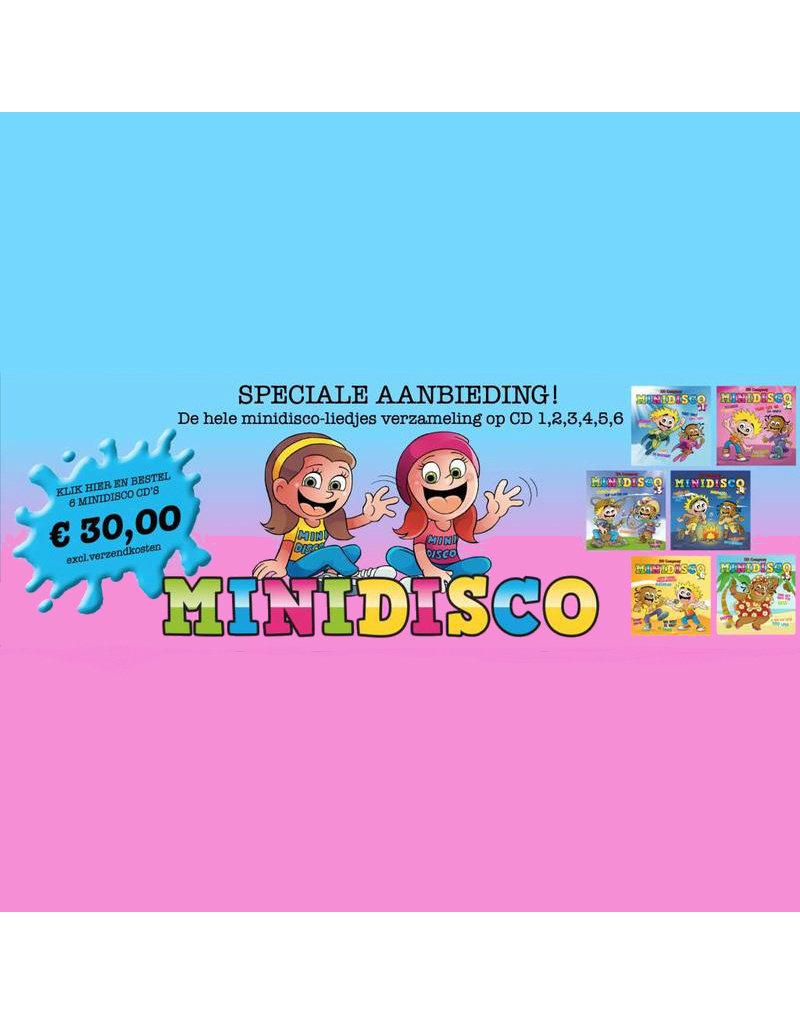 SUPER AANBIEDING!  CD1 t/m 6 voor maar €30,-